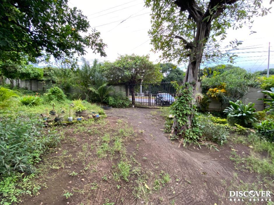 Terreno en venta en Carretera Masaya
